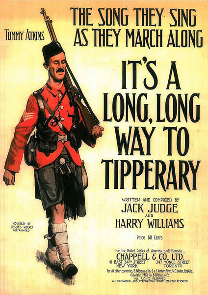 It's a long way to Tipperary