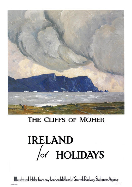 The Cliffs of Moher Paul Henry