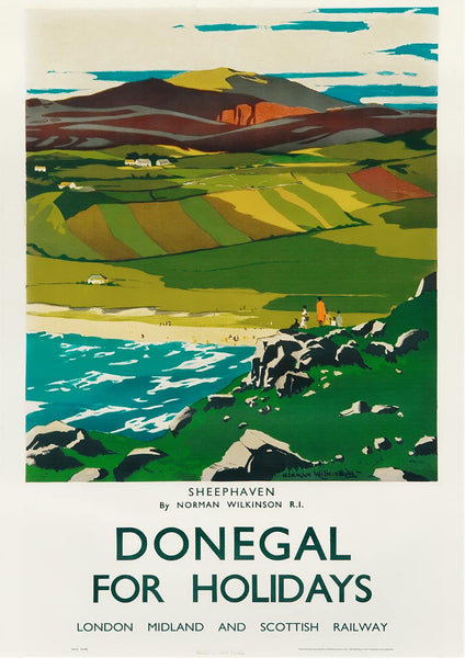 Sheephaven, Donegal By Norman Wilkinson R.I.
