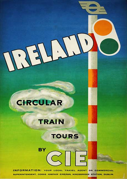 Circular train tours Ireland