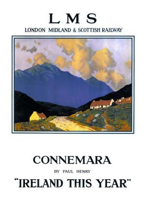Connemara Vintage Travel Poster