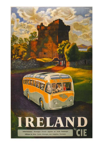 CIE Tours Vintage Travel Poster