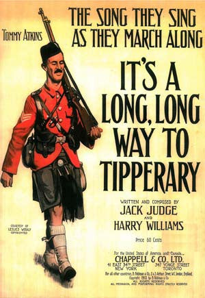 It's A Long Way To Tipperary Recruitment Poster