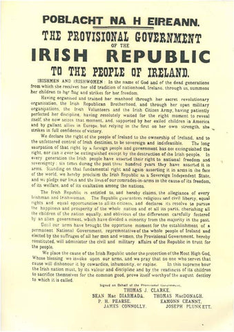 Irish Proclamation