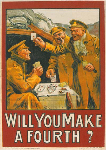 Make a Fourth WW1 poster
