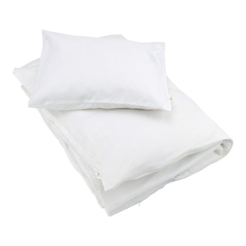 KONGES SLØJD BEDDING - SATIN WHITE