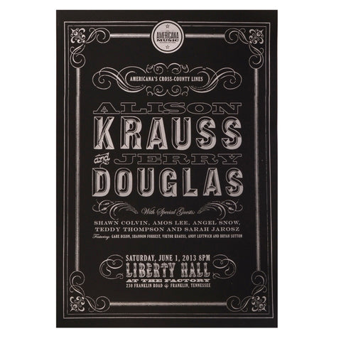 LIMITED EDITION ALLISON KRAUSS POSTER