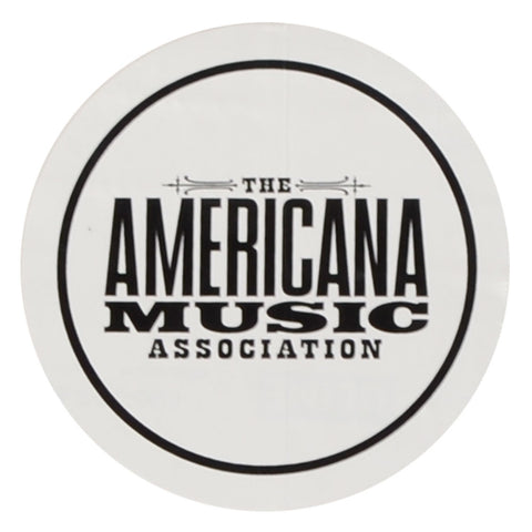 AMERICANA MUSIC ASSOCIATION LOGO STICKER