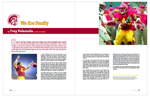 USC <br>The Official and Exclusive Illustrated History of Trojan Football