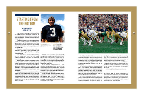 Notre Dame <br>The Official Illustrated History of Fighting Irish Football