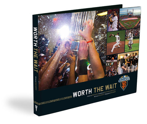 "San Francisco Giants <br>""Worth the Wait""<br>The Official 2010 World Series Commemorative"