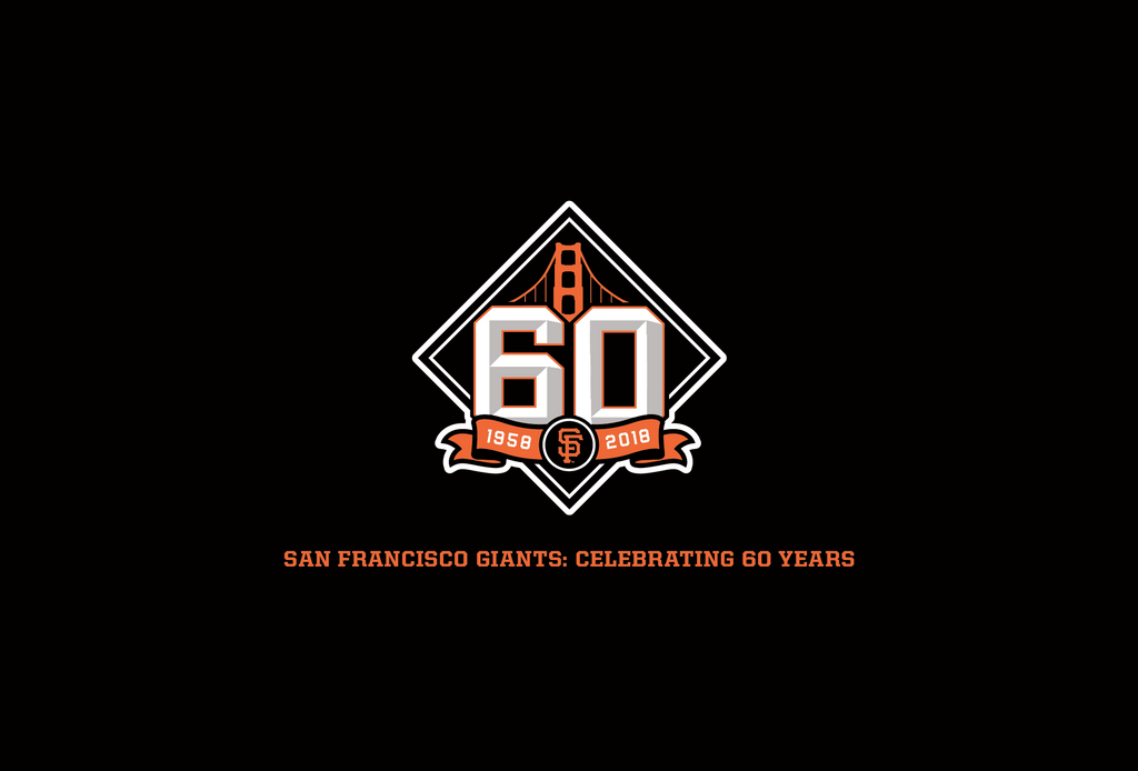San Francisco Giants <br>Celebrating 60 Years: Ticket Art