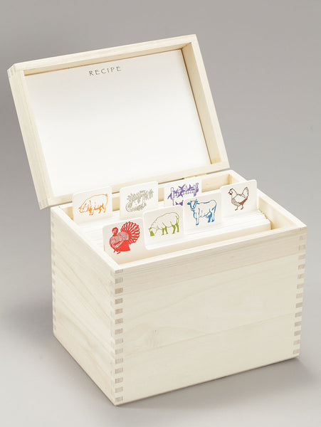 Entree Recipe Box