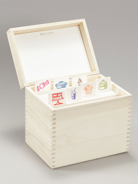 Sweets Recipe Box