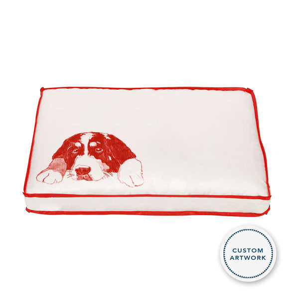 Custom Dog Pillow Bed 2