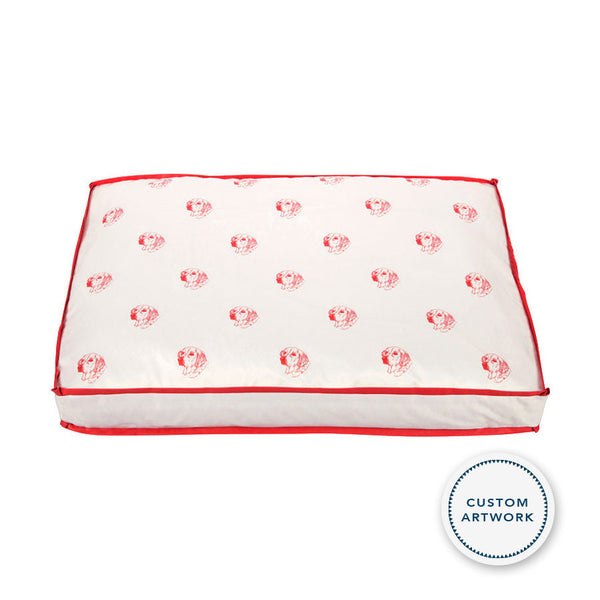 Custom Dog Pillow Bed Pattern