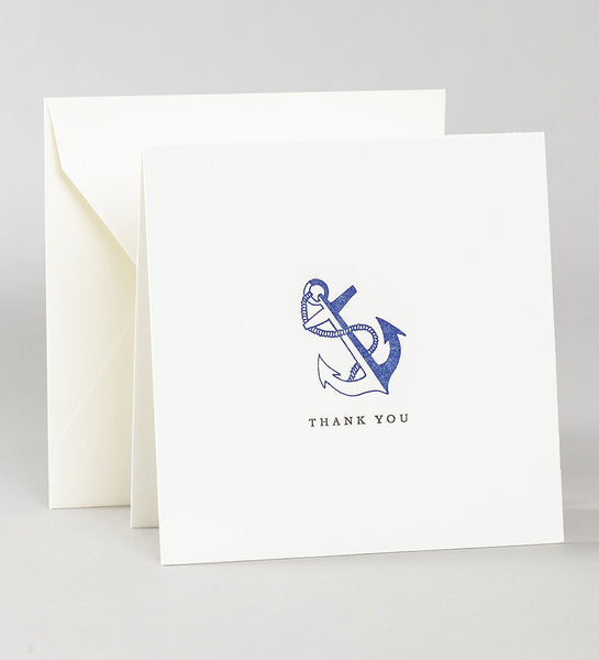 Thank You Notes - Anchor