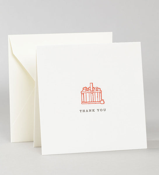 Thank You Notes - Apple Basket