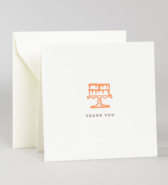 Thank you notes - Cake