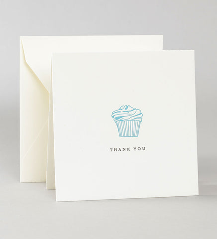 Thank You Notes - Cupcake