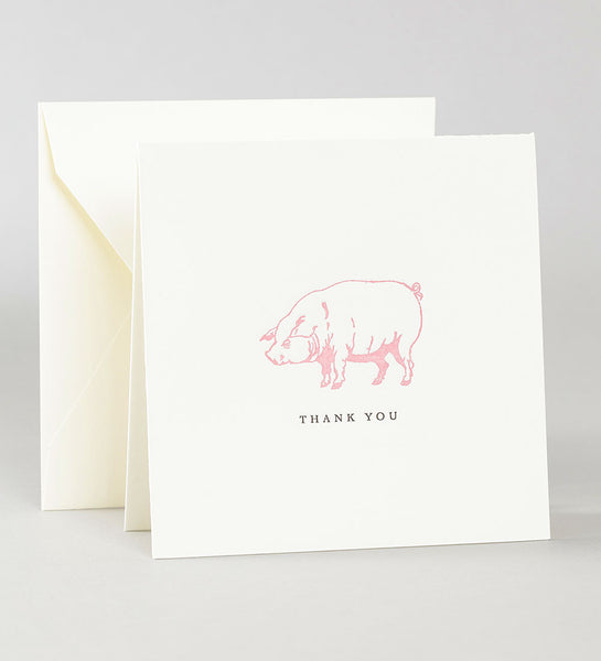 Thank You Notes - Pig