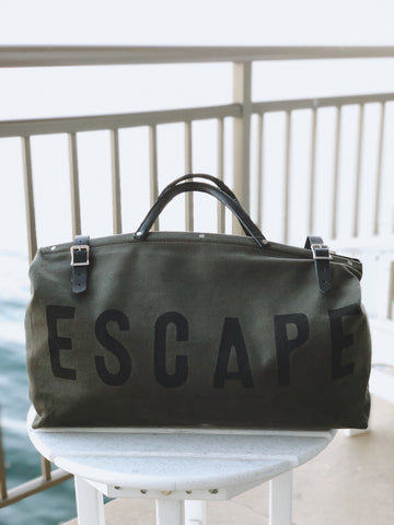 ForestBound ESCAPE Canvas Utility Bag