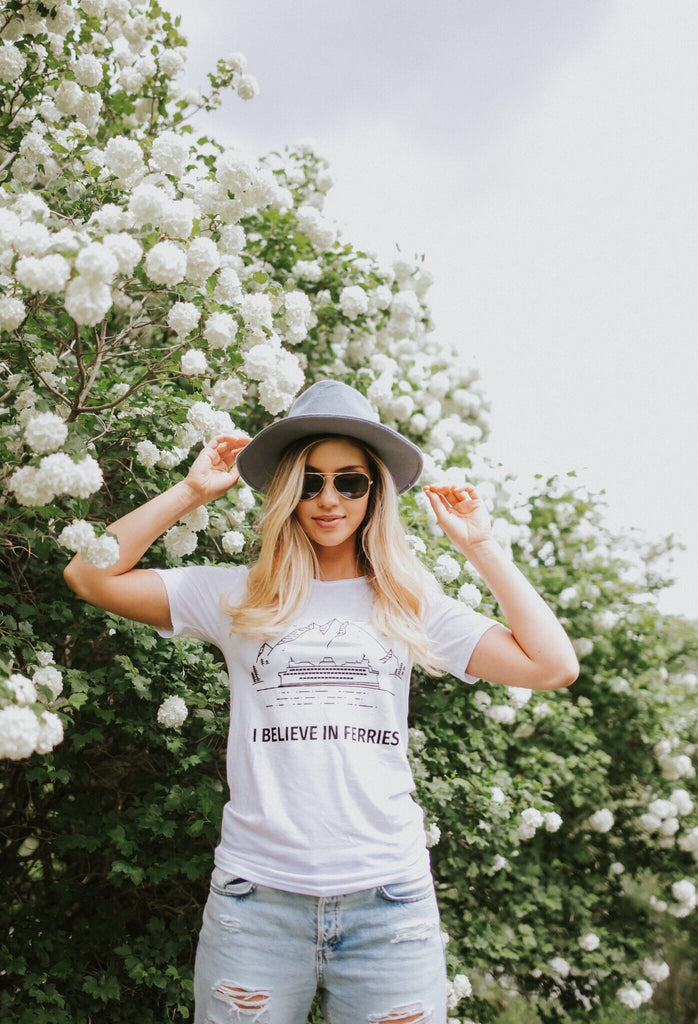 I Believe In Ferries Tee