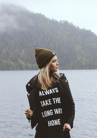 Always Take The Long Way Home Tee