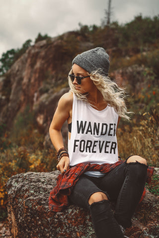 Wander Forever Muscle Tank