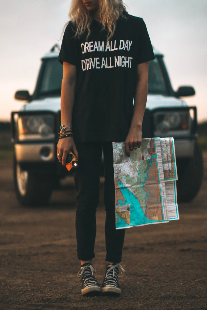 Dream All Day Drive All Night Tee