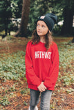 NRTHWST Youth Red Sweatshirt