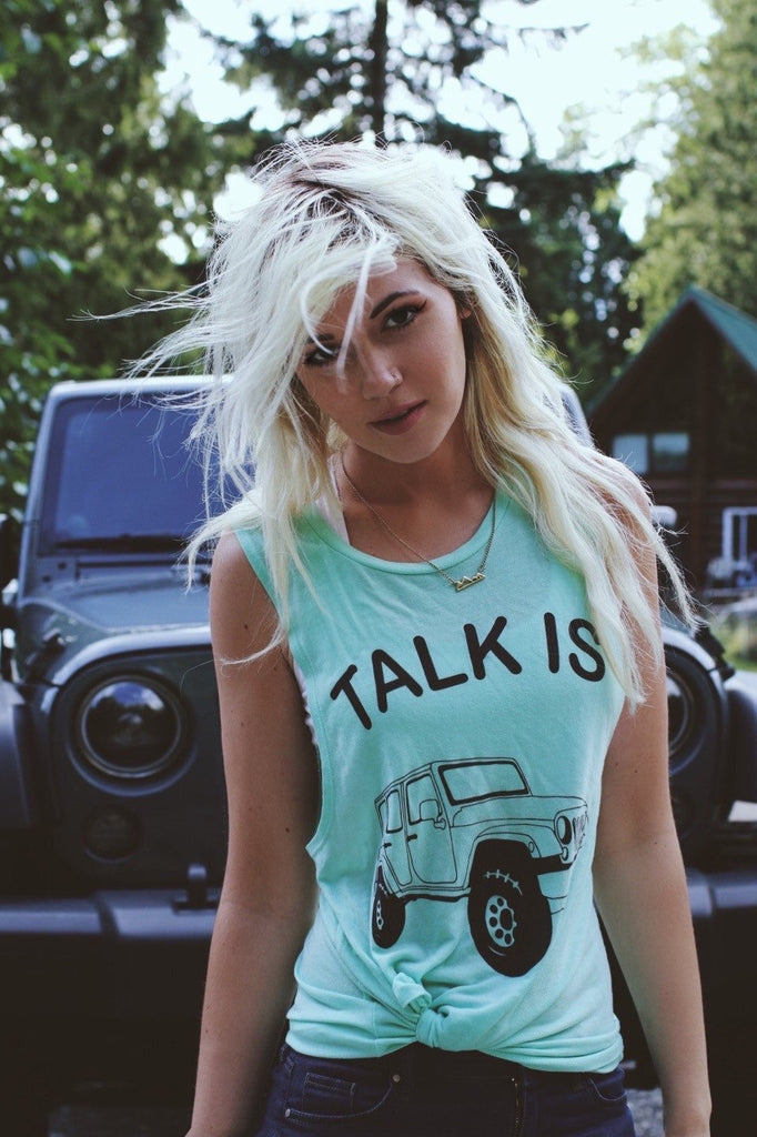 Talk Is Jeep Tank