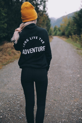 Long Live The Adventure Quarter Zip
