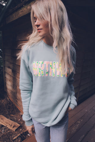NRTHWST Wildflower Sweatshirt