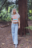 Nrthwst Color Crop Tee