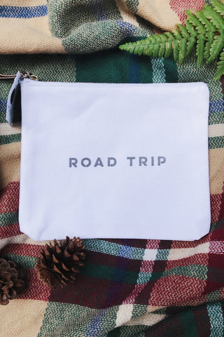 Road Trip Canvas Pouch
