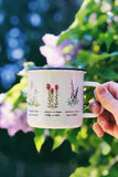 PNW Wildflowers Camp Mug