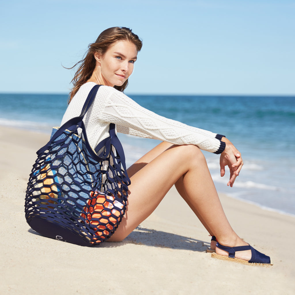 Fisherman's Tote: Dark Navy