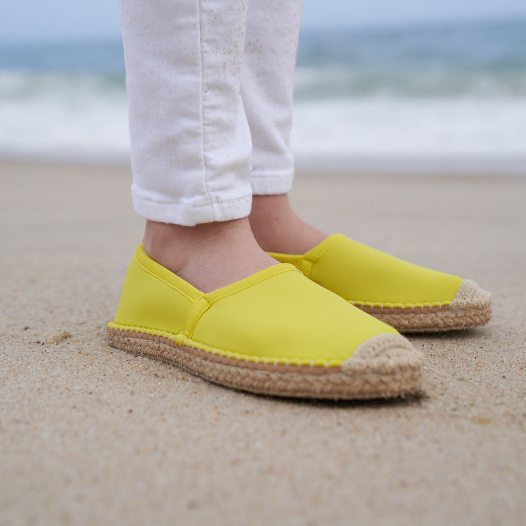 Beachcomber Espadrille: Kids <br>Citrine<br>Cynthia Rowley Collaboration