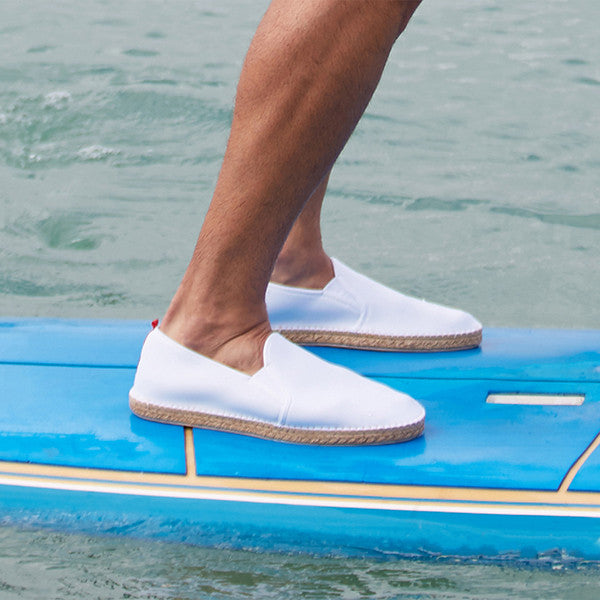 Mariner Slip-On: Mens White