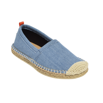 Beachcomber Espadrille: Kids Light Denim