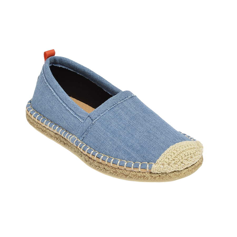 LIGHT DENIM <p> KIDS BEACHCOMBER ESPADRILLE