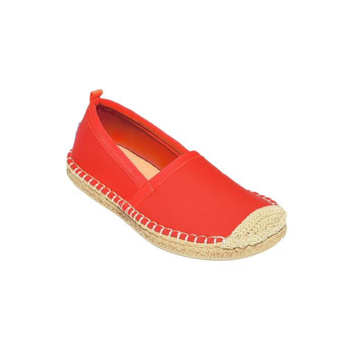 Beachcomber Espadrille: Kids Lighthouse Red