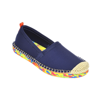DARK NAVY OCEAN SOLE <p> KIDS BEACHCOMBER ESPADRILLE