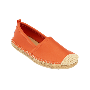 Beachcomber Espadrille: Kids Sea Star Orange