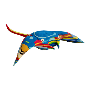 MANTA RAY <p> HAND-CARVED SCULPTURE
