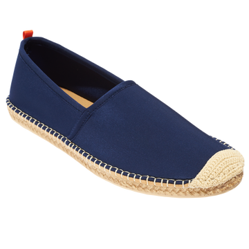 Beachcomber Espadrille: Mens Dark Navy