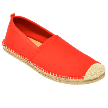 Beachcomber Espadrille: Mens Lighthouse Red