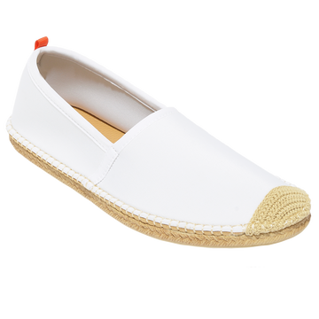 WHITE <p> MENS BEACHCOMBER ESPADRILLE