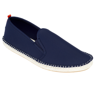 Mariner Slip-On: Mens Dark Navy with White Sole